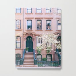 Spring in Greenwich Village - New York Photography Metal Print