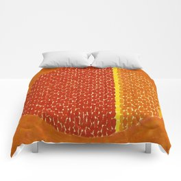 Snoopy sees Earth Wrapped in Sunset African American Masterpiece by Alma Thomas Comforters