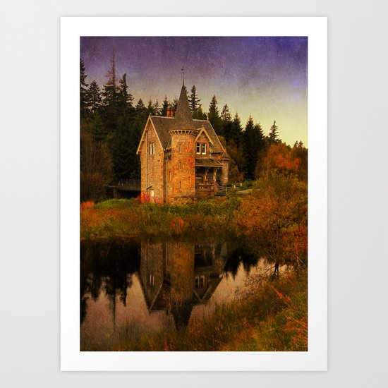 """The Old House"" Art Print"