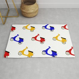 Scooter Pattern Rug