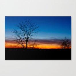 Caledon Sunset Canvas Print