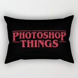 Photoshop Things Rectangular Pillow