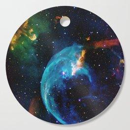 Blue Bubble Cutting Board