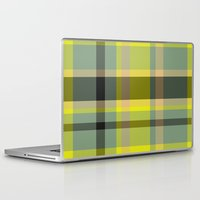 yellow pattern Laptop & iPad Skins featuring Pattern Yellow by Fine2art