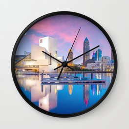 Cleveland - USA Wall Clock