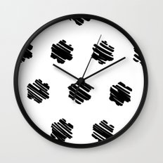 strokes Wall Clock