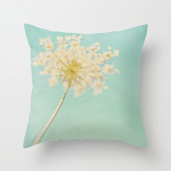 Where the Blue Takes You Throw Pillow