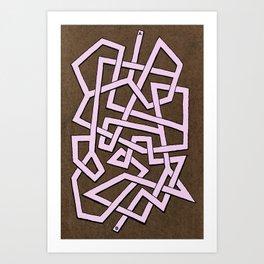 Maze 82 Art Print