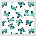 Blue butterflies by artcolours