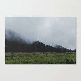 Through Oregon. Canvas Print