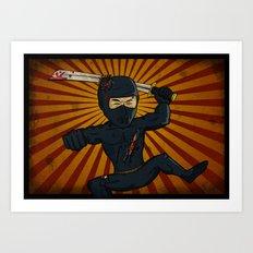 DK Ninja Art Print