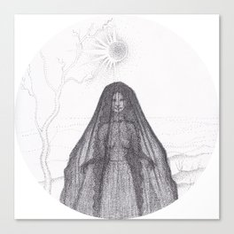 Hedge Witch Canvas Print