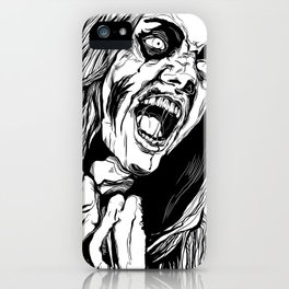 Zombie Rage iPhone Case
