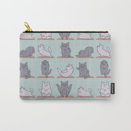 British Shorthair Cat  Yoga Carry-All Pouch