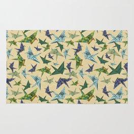 5 Washi Cranes Rug