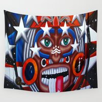 native Wall Tapestries featuring Native by Lost River Photography