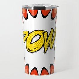 Comic Book Pop Art Travel Mug