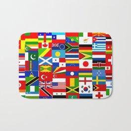 Flag Montage Bath Mat