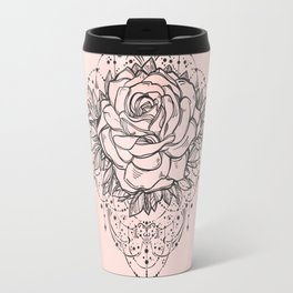 Night Rose Travel Mug