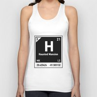 haunted mansion Tank Tops featuring elements of H (Haunted Mansion) by designoMatt