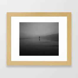 The Morning Fog Framed Art Print