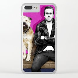 Ryan Gosling and friend Clear iPhone Case