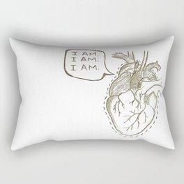 The Brag of My Heart Rectangular Pillow