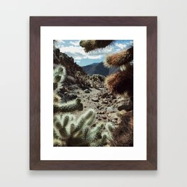 Cholla Frame Framed Art Print