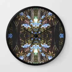 Vintage Forest Rhode Wall Clock