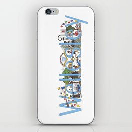 Wellesley College by Stephanie Hessler '84 iPhone Skin