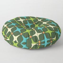 Mid Century Modern Star Pattern 581 Floor Pillow