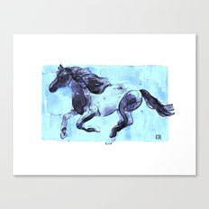 Running Horse 1 Canvas Print