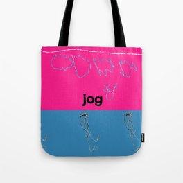 Jog Tote Bag