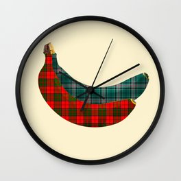 Banana - kilt Wall Clock