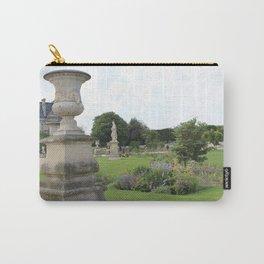 Paris Park Near Louvre Carry-All Pouch
