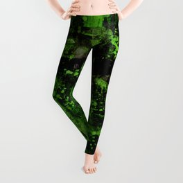 Voices Of The Night No.1o by Kathy Morton Stanion Leggings