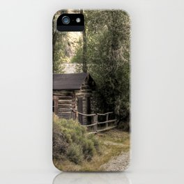 End of the Road iPhone Case