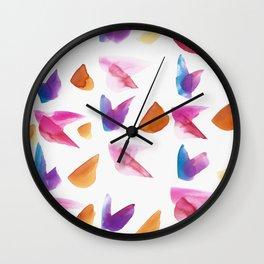 Winged Memories #25 Wall Clock