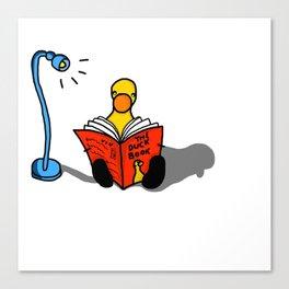 Reader I Canvas Print