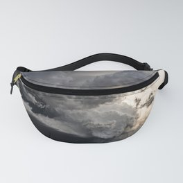 Fist of Fury - Storm Packs a Punch Over Oklahoma Plains Fanny Pack