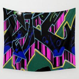 Grafitti_freewall9 Wall Tapestry