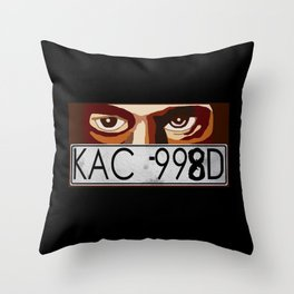 Van Damn Van Throw Pillow