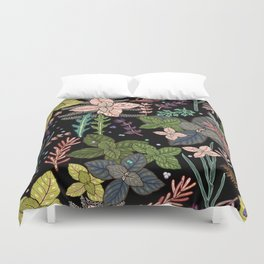 mysterious herbs Duvet Cover
