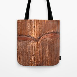 vertical structure of spruce board Tote Bag