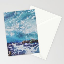 Turbulent Tide Pool Stationery Cards
