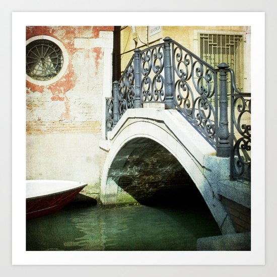 The Refuge - Venice Art Print