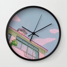 PANTONE 90s Anime Wall Clock