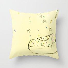 Original Yum. Throw Pillow