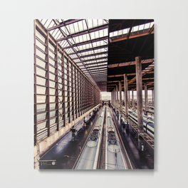 The end at the end... Metal Print