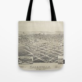 Greenville, Texas 1891 Tote Bag